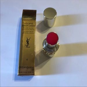 YSL Volupte Sheer Candy #4 Succulent Pomegranate